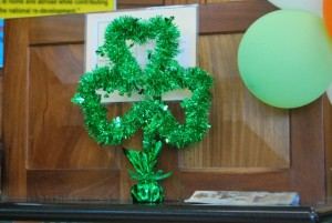 St Patricks Day.. in the bank