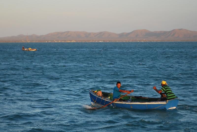 Fishermen Cabo de la Vela