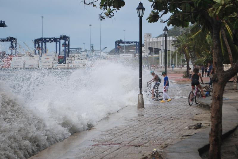 Santa Marta seafront